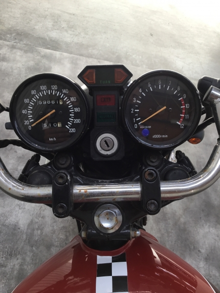YAMAHA 750 XS